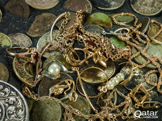 Buying coins and Jewelry