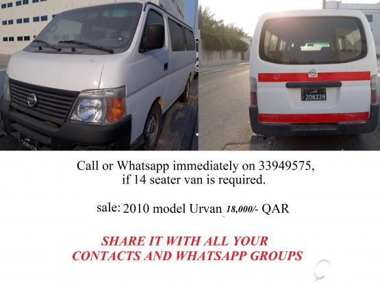 14 seater van for sale