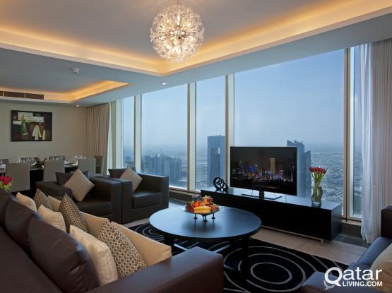 Kempinski - Double bedroom - 42nd floor