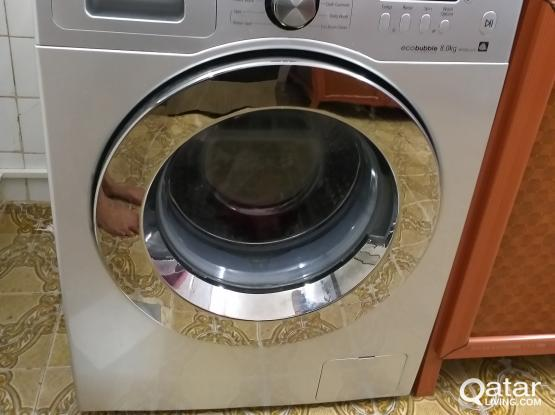 Samsung Washing Machine 8 kg (Eco Bubble)