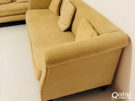 home Center sofa excellent condition 850 riyal
