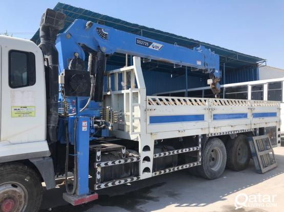 CERTIFIED BOOM TRUCK 10 TON 2017 AVAILABLE FOR RENT