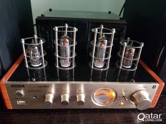 Hybird Tube Amplifier with Bluetooth