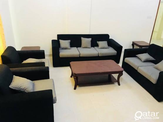 Fully Furnished 3 Bedroom Apartment in Mansoura ( No Commission )