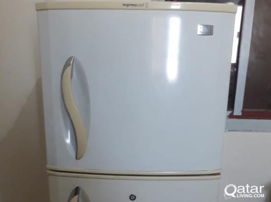 Washing Machine(Auto) 2 Door fridge - 1000