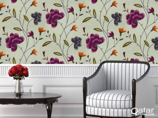 Furniture Wallpaper Window Blinds & Moor