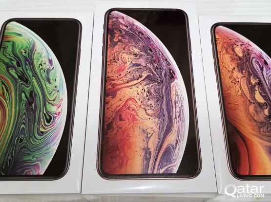 Latest iPhone Xs and Xs Max Brand New Unlocked Version