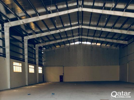 WAREHOUSE (3500 m) FOR RENT IN INDUSTRIAL AREA