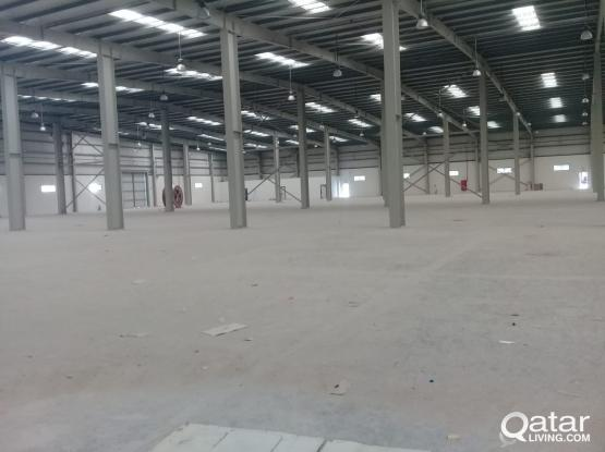 STORES 3000&7000m.   FOR RENT IN INDUSTRIAL AREA