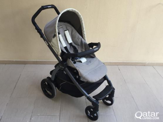 Stroller And Baby Car Seat Combo By Peg Perego