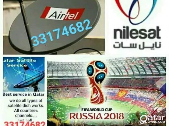 Satellite dish work please call me 33174682