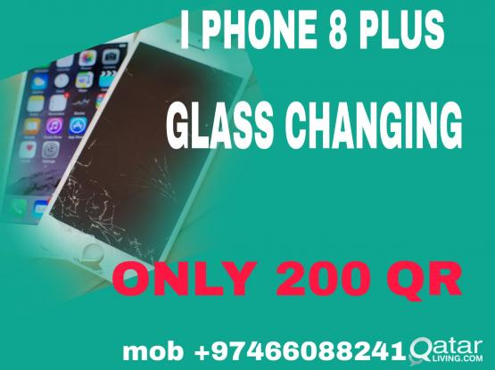 samsung iphone glass changing cheap price