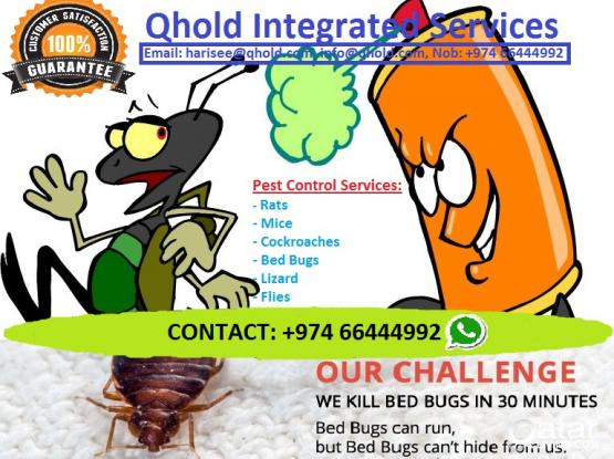 Pest Control Service - 100% customer satisfaction
