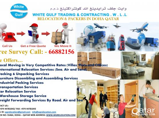 Call 66882156 White Gulf Relocation & Moving Services