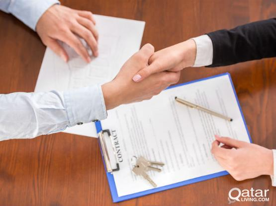 Very Low Price Tenancy Contract For Family Visa & health card Baladiya(Municipality Attested)