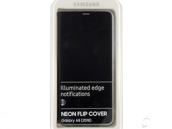 A8 2018 Neon Flip Cover (Samsung Original)