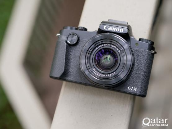 Canon PowerShot G1 X Mark III - Wi-Fi Enabled