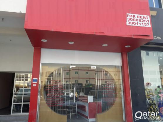 Shop available for rent at Prime location in Aziziya