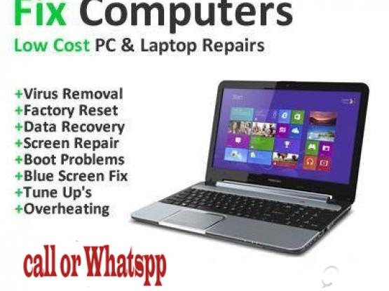computer / laptop   repair services very less price call 77157470