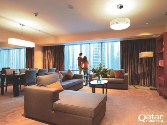 4 Bedroom Apartment in West Bay - InterContinental The City