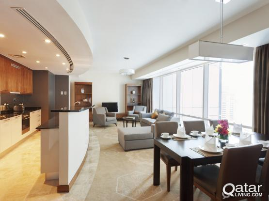 3 Bedroom Apartment in West Bay - InterContinental The City