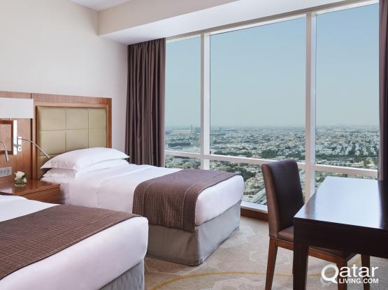 Studio Apartment in West Bay - InterContinental The City