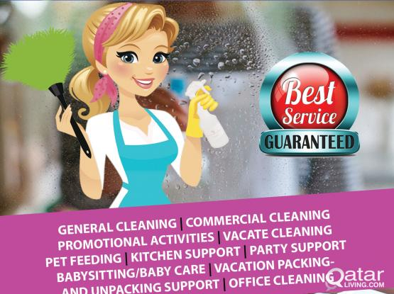 Special offer – Female Cleaners Call us 30603076