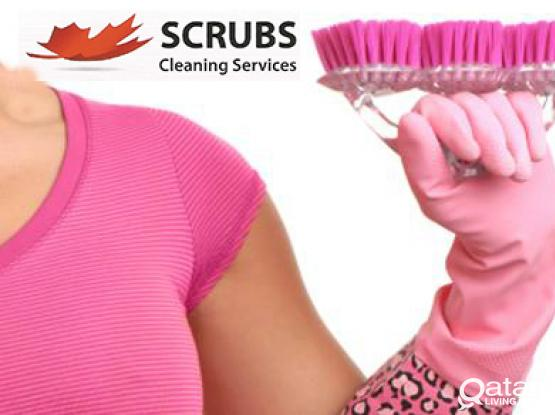 Scrubs Cleaning Services We don't cut corners, we clean them!