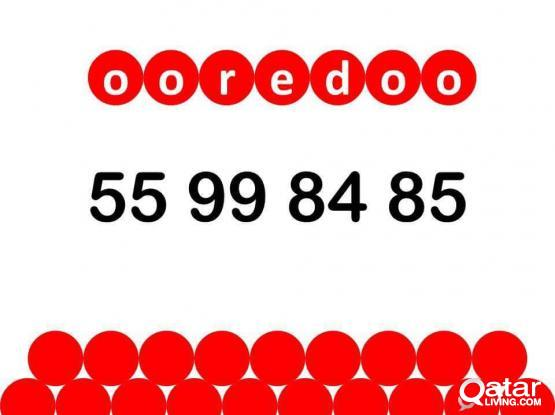 ooredoo special number 55 99 84 85.