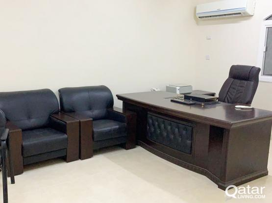 [1-Month Free]Unfurnished, 2-Rooms Office Space in Al Gharrafa