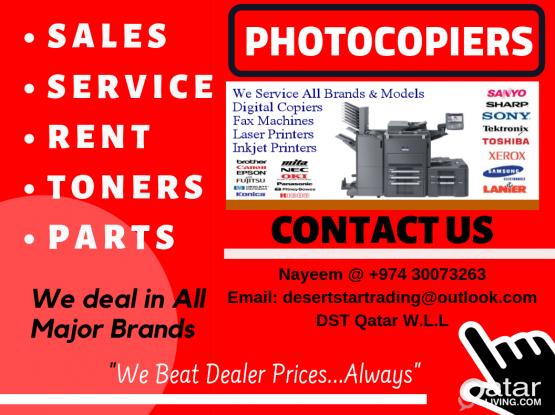 Photocopiers Sales & Service
