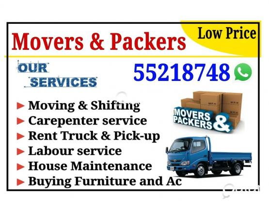 Best Price Moving,Shifting,carepentary,Maintanence Call. 55218748