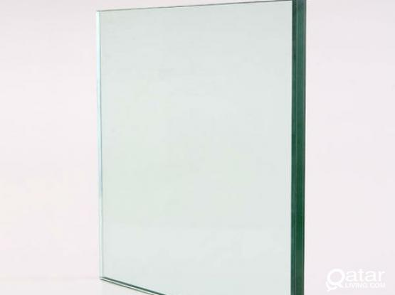 CLEAR TEMPERED TABLE TOP GLASSES