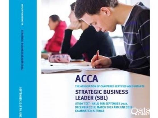 ACCA - SBL - KAPLAN BOOK 2018 - 2019 | Qatar Living