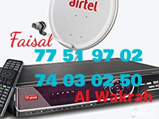 Satellite dish installation . Mob:, 74030250