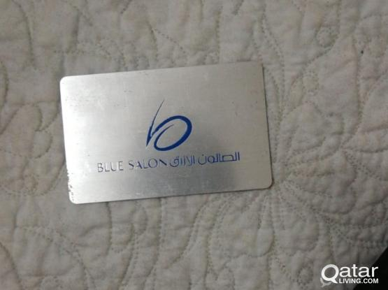 SAVE OVER 1000 QR-Blue Salon Gift Card worth QR 3000