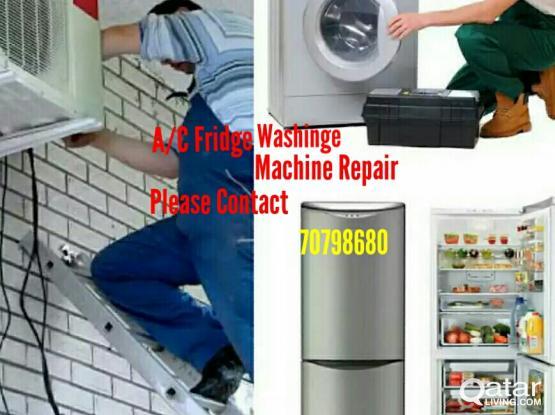 A/C, Fridge And Washing Machine Repair 70798680
