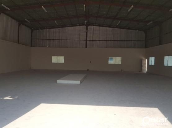 250,400 &1300  SQM  STORE FOR RENT IN INDUSTRIAL AREA