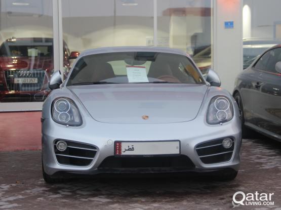 Porsche Cayman Standard 2014