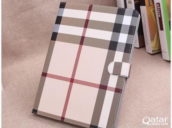 FS: iPad Book Cover Case + Tempered Glass