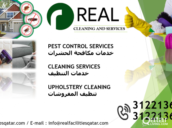 Call 33564224 - PEST CONTROL - MAID SERVICES - CLEANING - Sofa-Carpet ( Shampoo Cleaning).