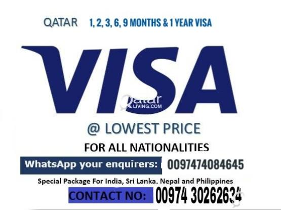 QATAR VISITING VISA WITH NOC/TOURIST ENTRY VISA