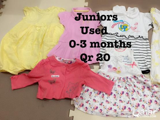 Baby Clothes Size Newborn to 3 Months