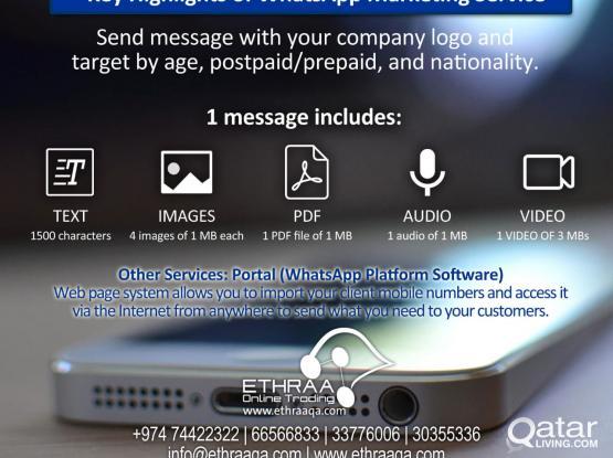 WhatsApp & SMS Marketing