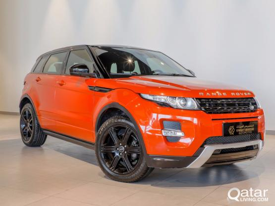 Land Rover Evoque Dynamic 2015