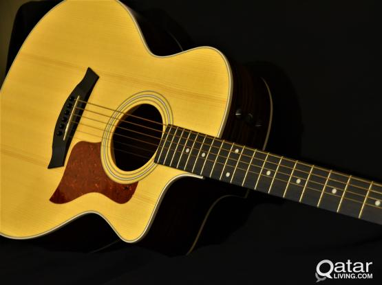 Taylor 214ce Acoustic/Electric Guitar Deluxe  - Grand Auditorium - Natural Rosewood & Spruce | Stagg Hard Case | Price Drop from 4250.00 to 3795.00