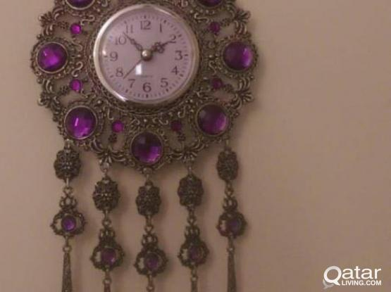 TURKISH ANTIQUE WALL CLOCK