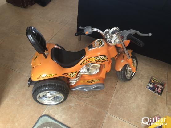 Harley Kid's battery motor cycle