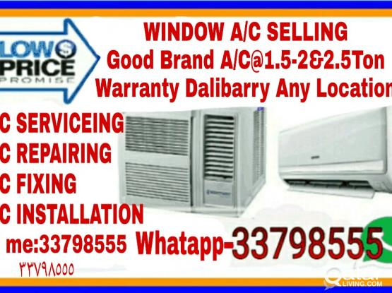 Buying And Window Ac With Split Ac-Same New,For Seal,Good Quality[]1.5And 2Ton With 5Ton[]Low Price...