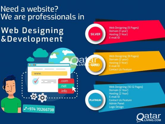 Cheapest Professional Website + Hosting and Domain  7026 6738